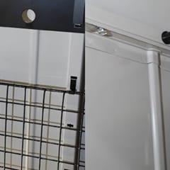 壁パネル各穴専用フック & アルマイト仕上げのカラー&ボルトセット