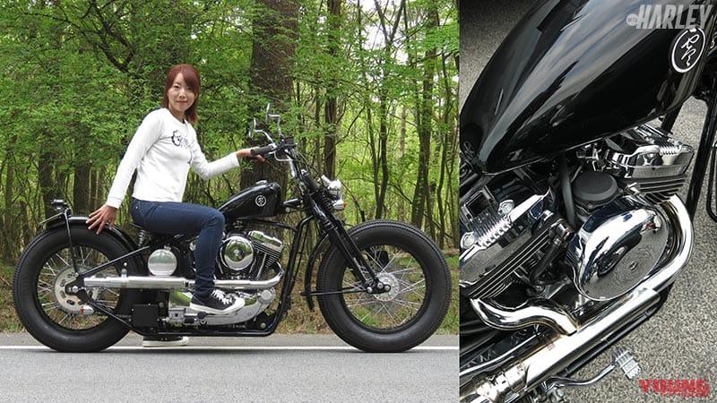 布村瞳さんと2019 ROAD Hopper Type2