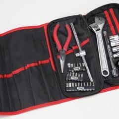 追加工具も余裕で収納。車載工具作りの基本ツールセット