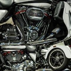 FLHTCUTGSEのエンジン