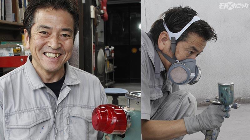ペイント工房ドリーム商會代表 小島明夫さん