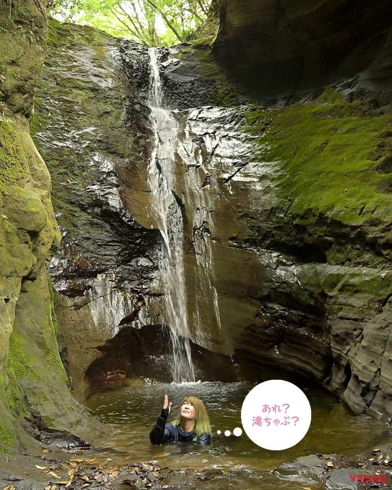 地蔵堂の滝で禊ぎ