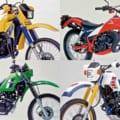 愛と青春のオフロードバイクを振り返る【懐かしの1983〜1984年モデル×厳選5台】