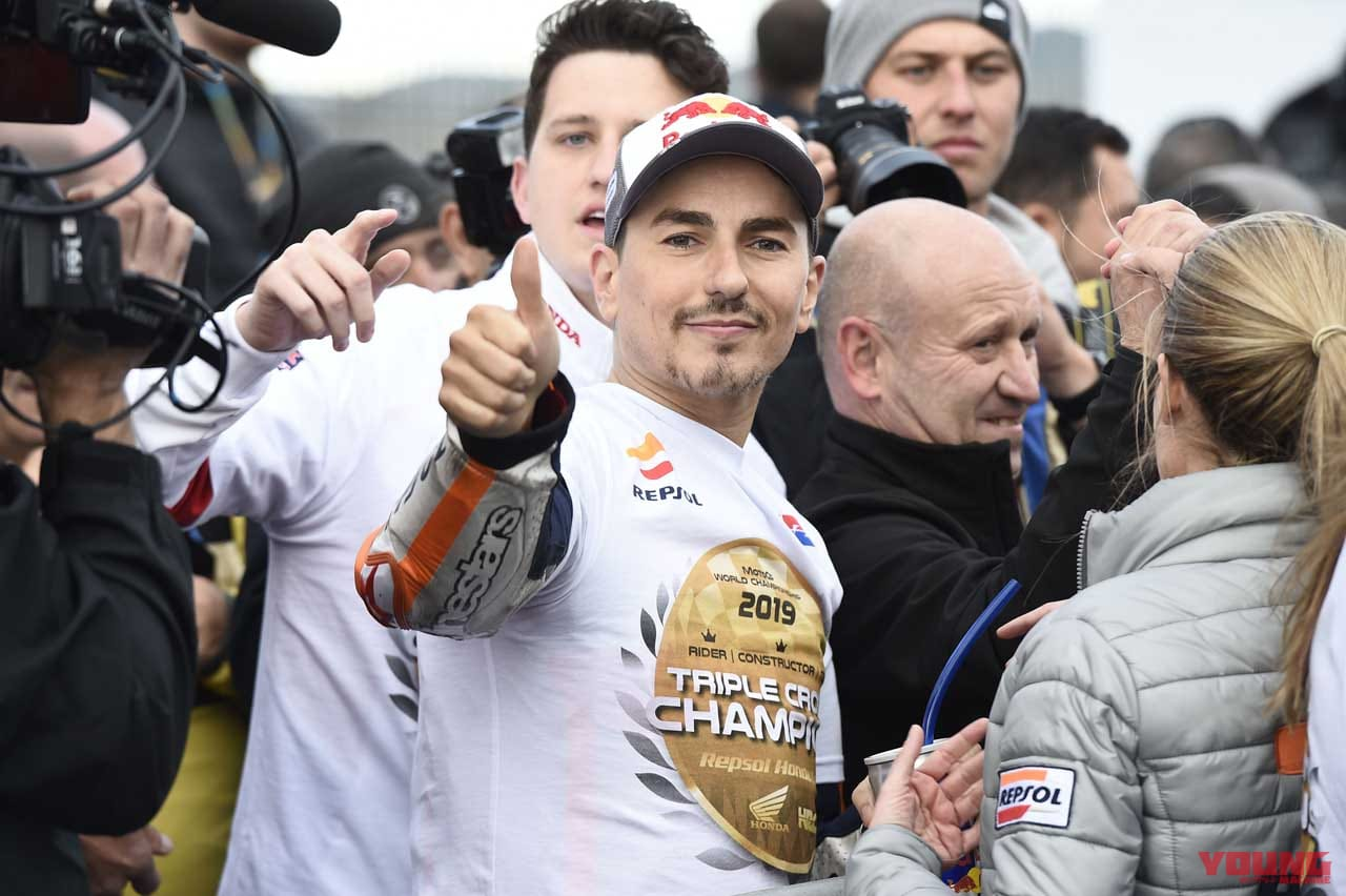 jorge lorenzo 2019 valencia GP