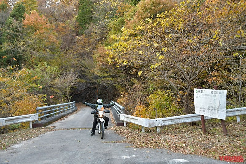 林道杏ヶ岳線出口
