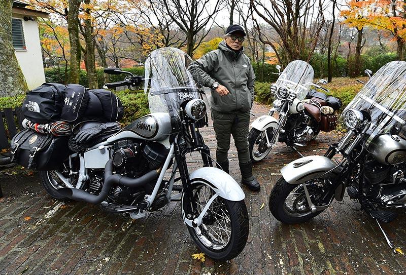芸能界きってのバイク好きとして知られる俳優の岩城滉一さん