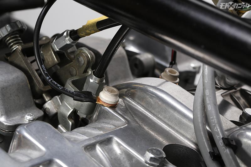 ヘッドアーシングヘルパーはシリンダーヘッドで発生する電気除去のために開発