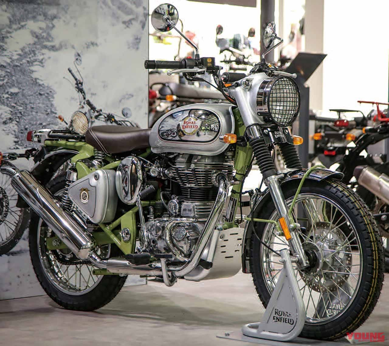 【ROYAL ENFIELD】BULLET TRIALS