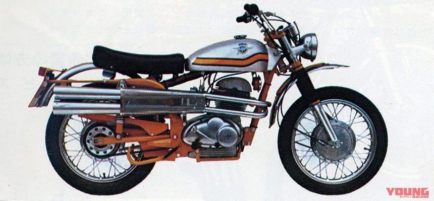 MVアグスタ 350スクランブラー