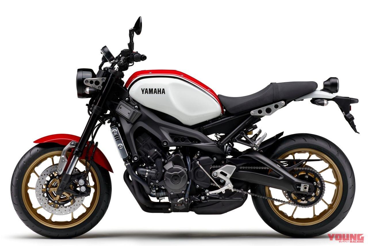 YAMAHA XSR900[2020]ラジカルホワイト