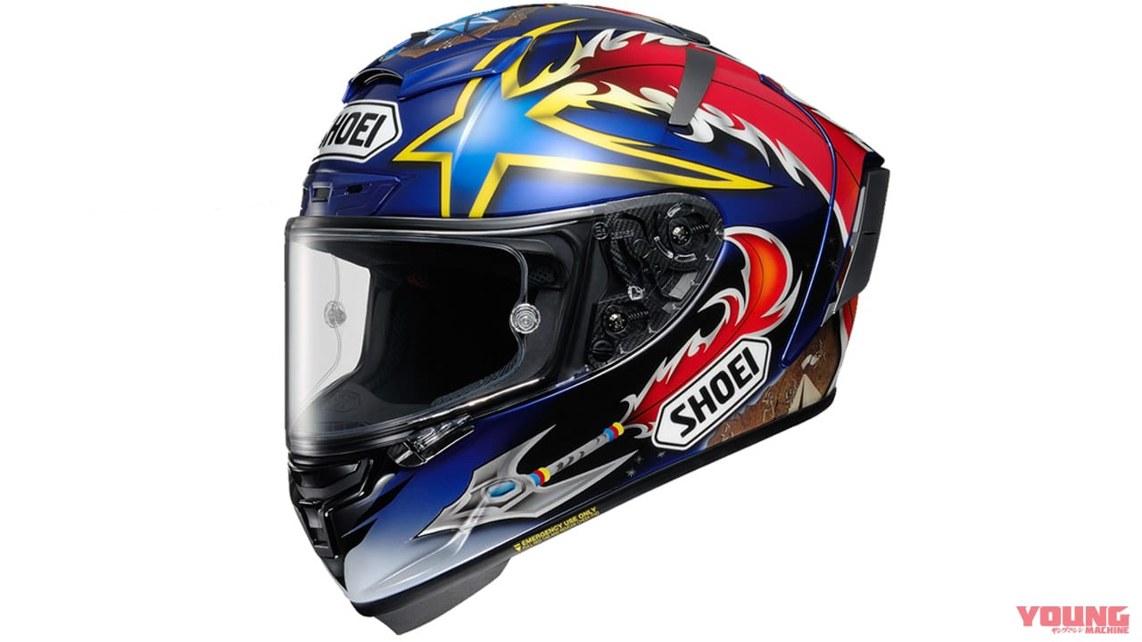 SHOEI X-Fourteen NORICK
