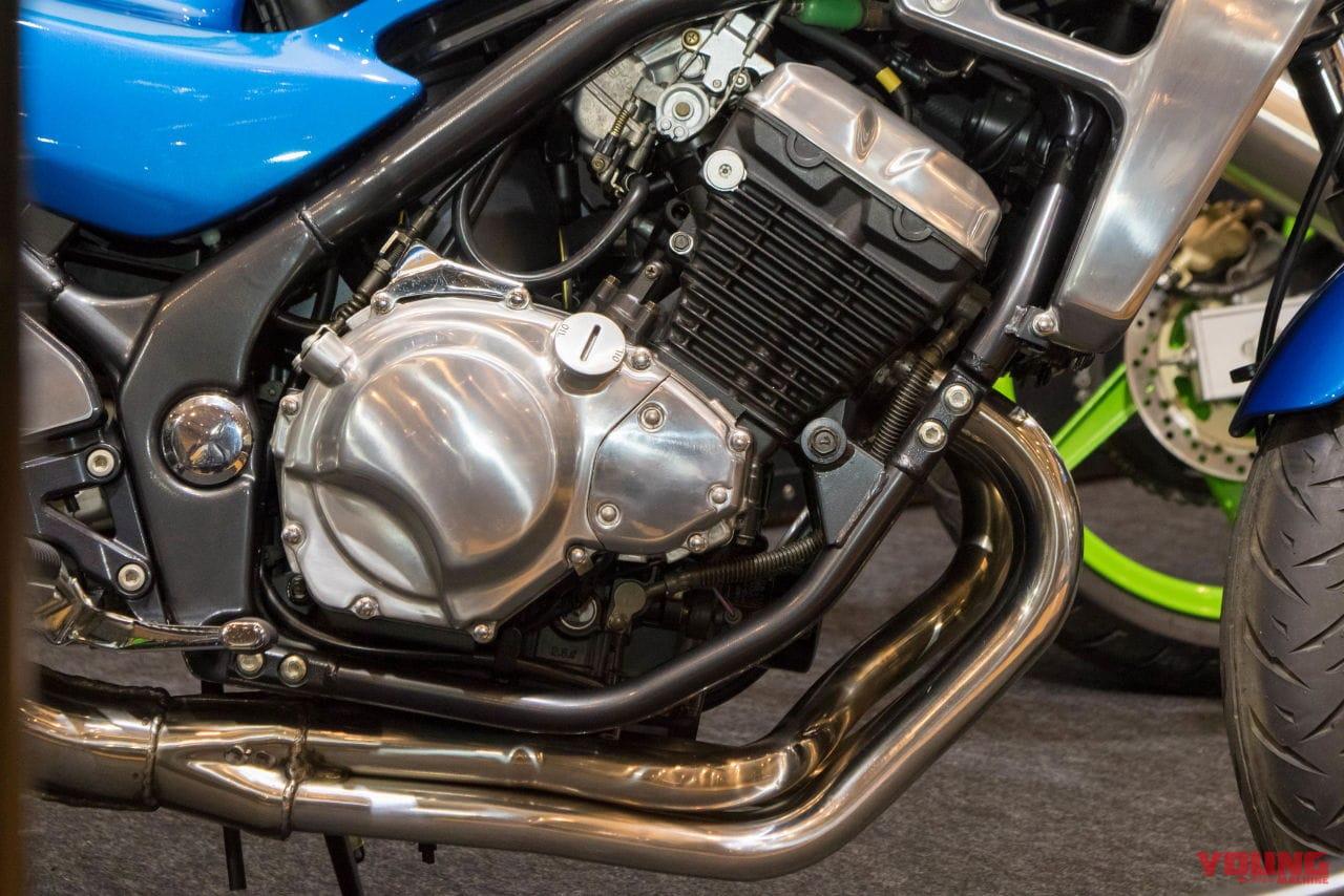 カワサキ、バリオスIIのエンジン