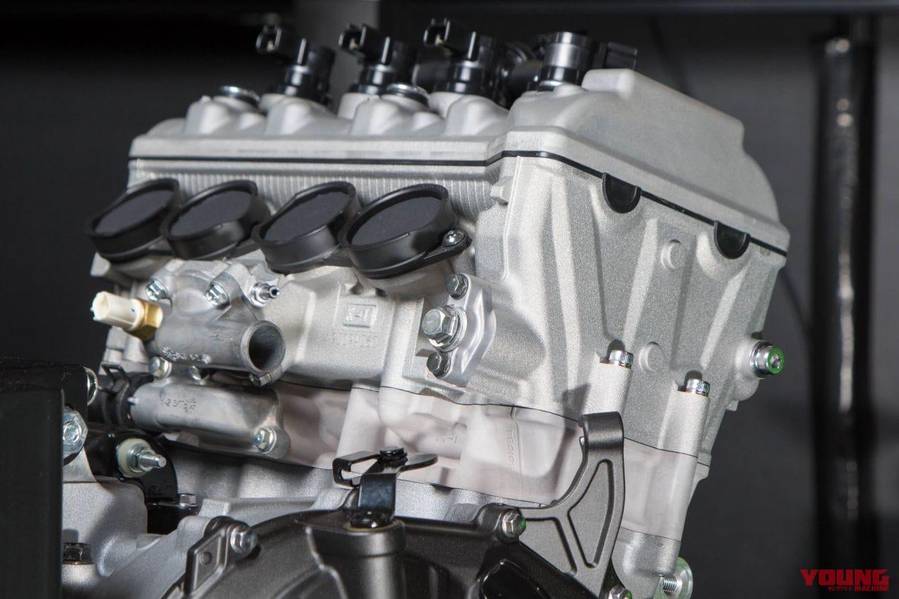 カワサキ、ニンジャZX-25Rのエンジン