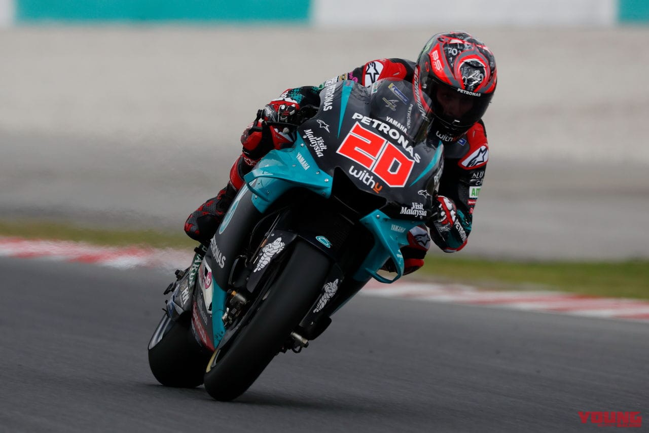 MotoGP Sepang Test fabio quartararo 2020 FEB 07