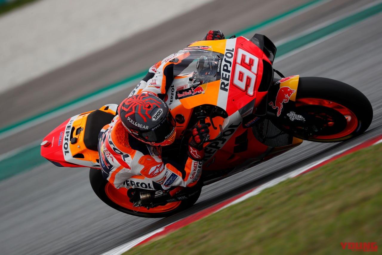 MotoGP Sepang Test Marc Marquez 2020 FEB 07