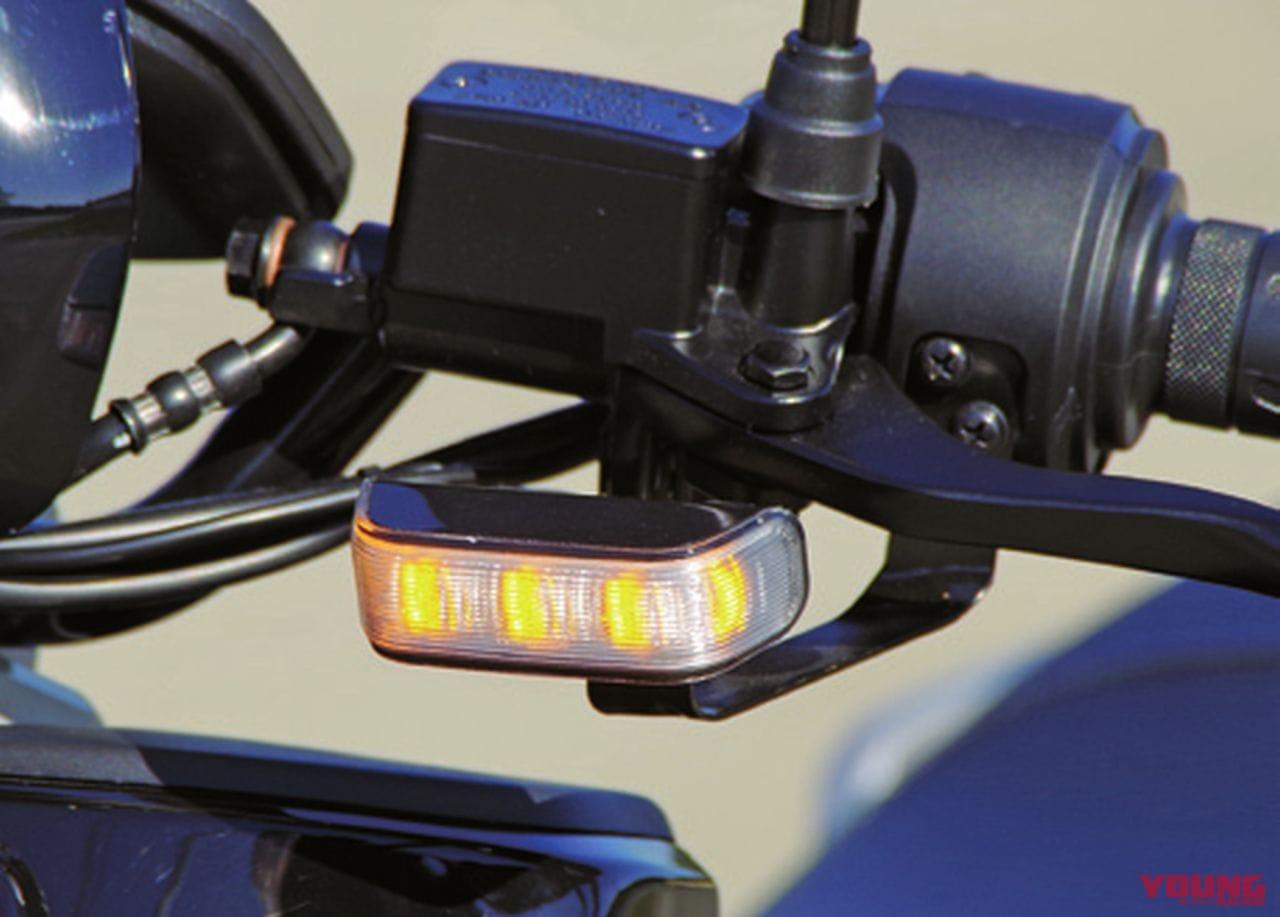 電動バイクXEAM「niu N-GT」ウインカー