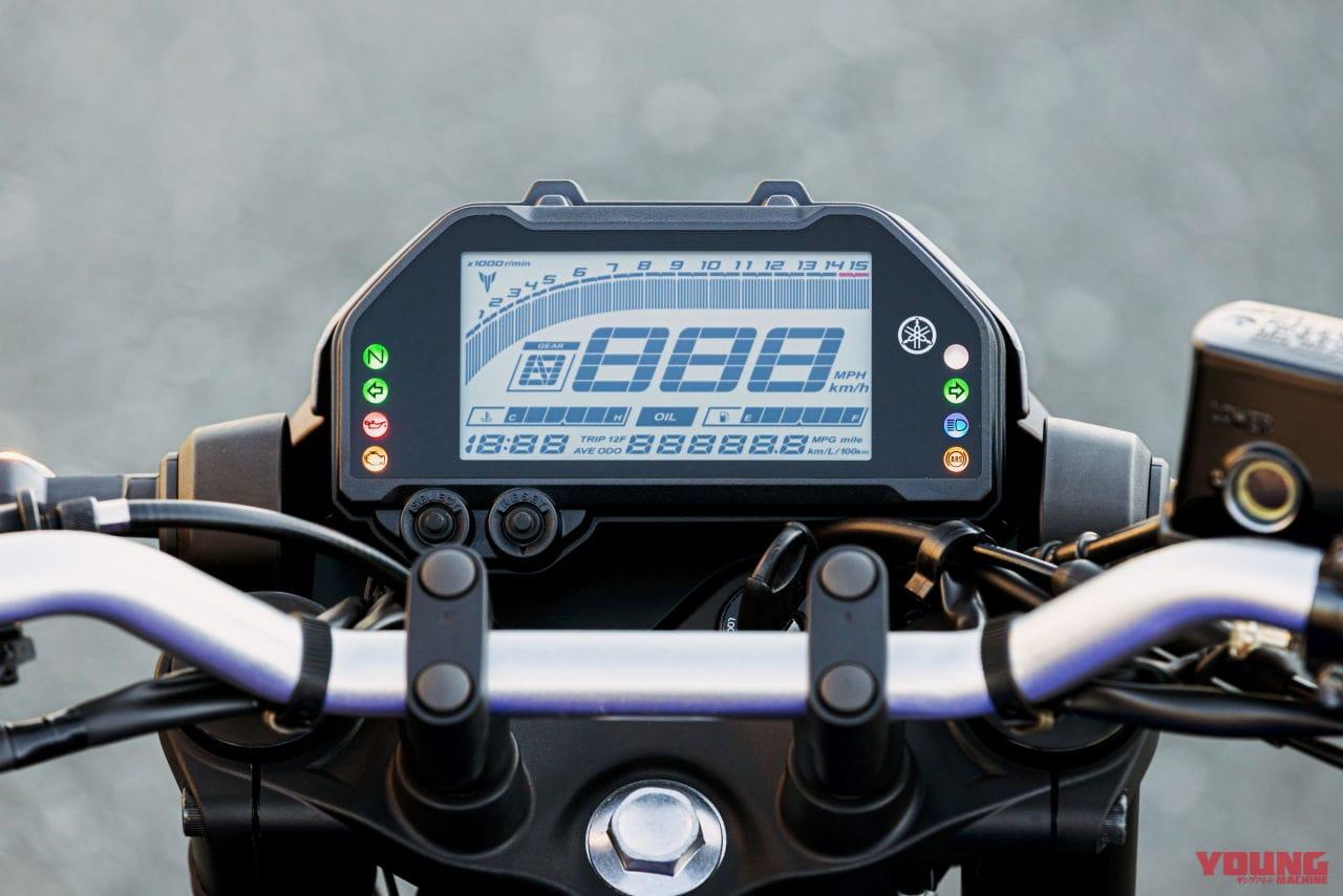 ヤマハ MT-25 ABS/MT-03 ABS ディテール