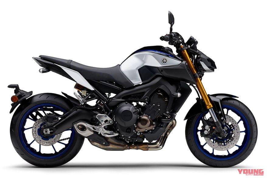 ヤマハ MT-09 SP ABS ブラックメタリックX