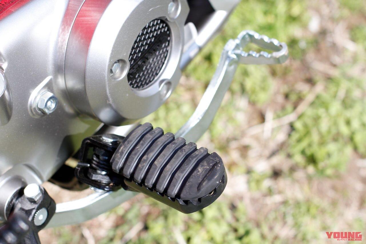 CT125ハンターカブのリヤブレーキペダル