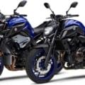 """ヤマハ「MT-10、MT-07」2020年モデル新色のブルーが登場、""""R""""イメージのマットグレー"""