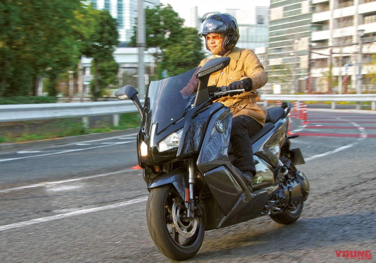 BMW電動バイク「Cエボリューション」試乗レポート【0-50km/h加速2.8秒】