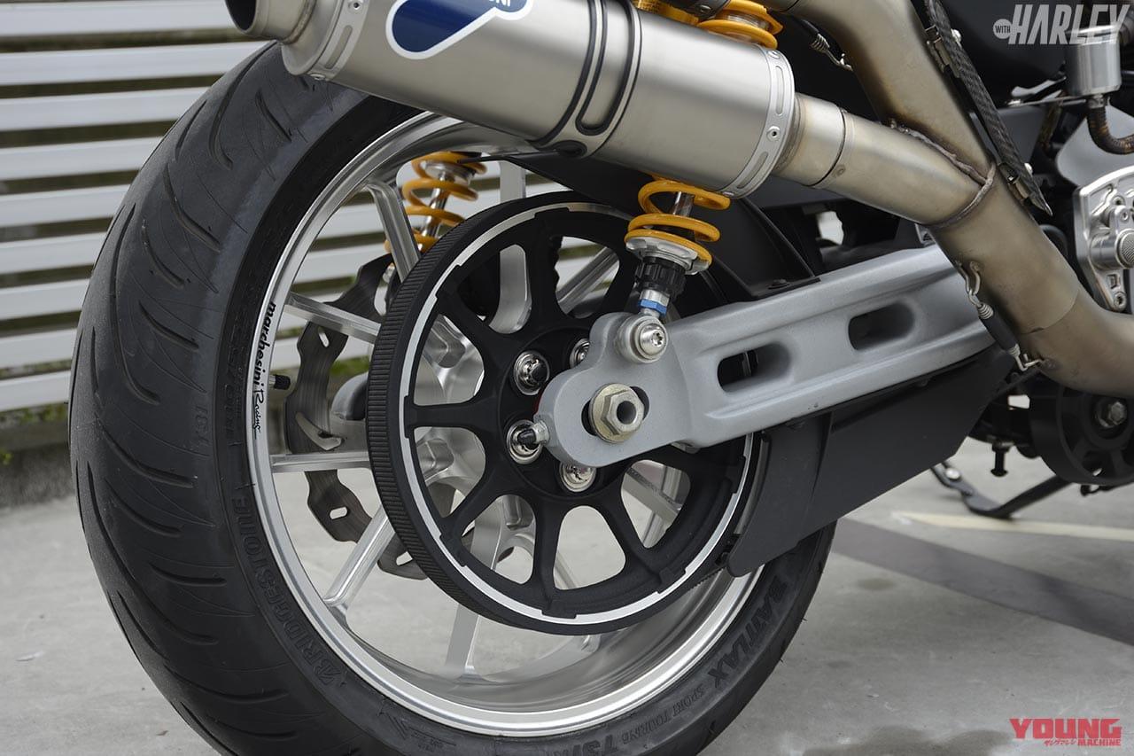 ハーレーダビッドソン スポーツスターXR1200 一国サイクルワークスカスタム