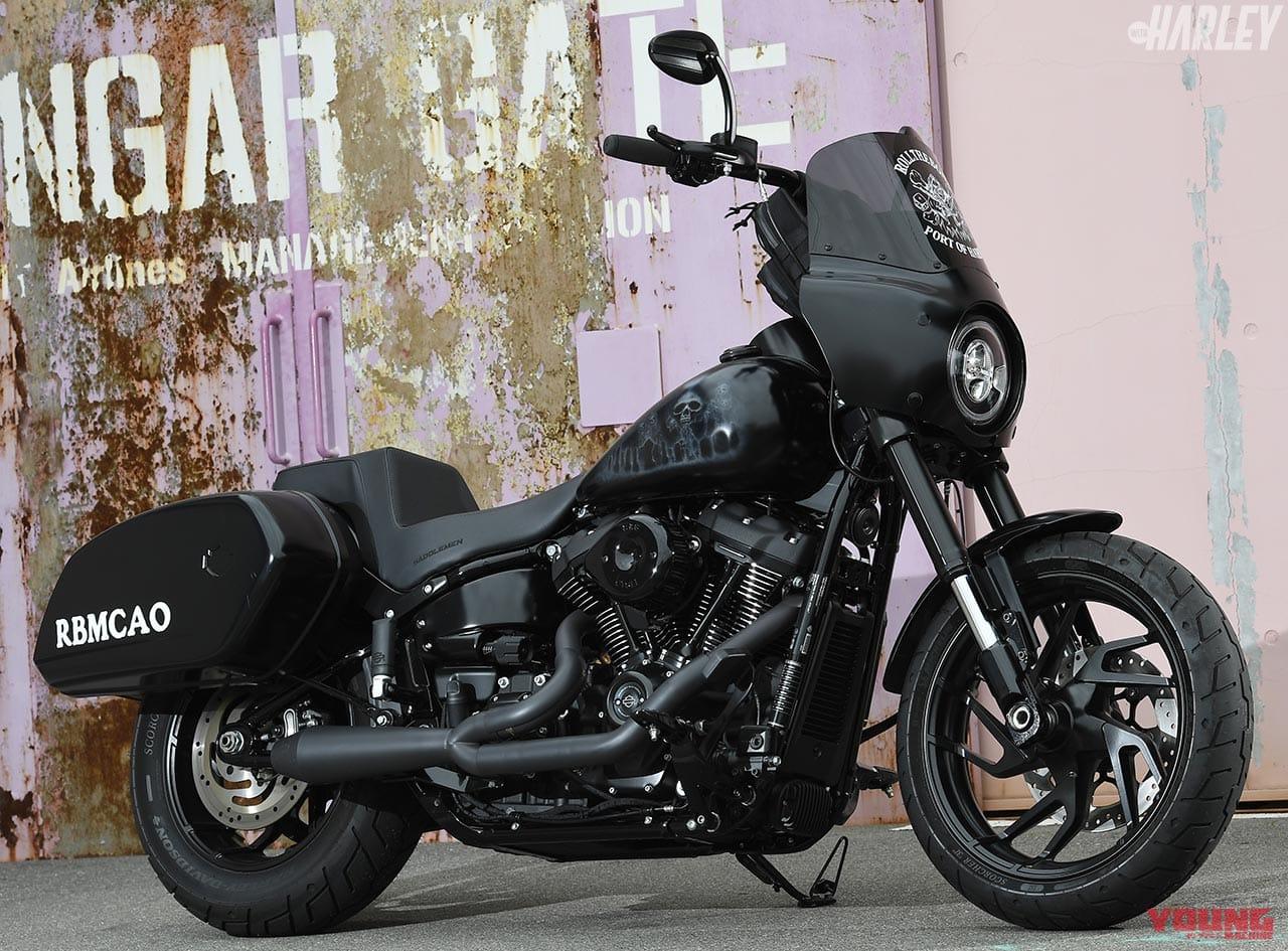 RTB Motorcycleスポーツグライドカスタム