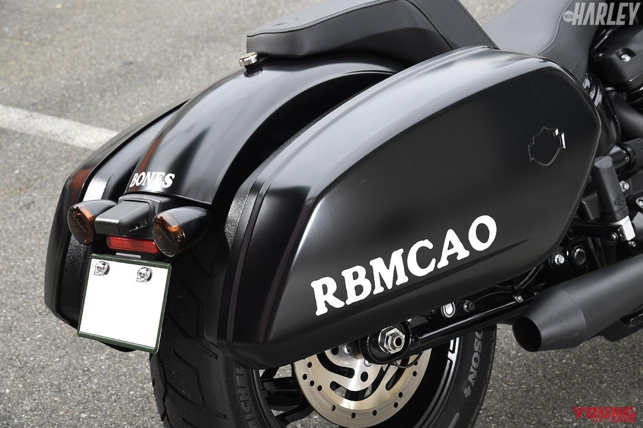 RTB Motorcycleスポーツグライドカスタム パニア