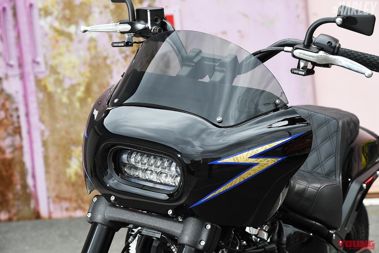 RTB Motorcycle ファットボブ114カスタム フロントマスク