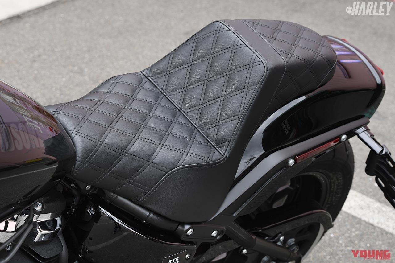 RTB Motorcycle ファットボブ114カスタム シート