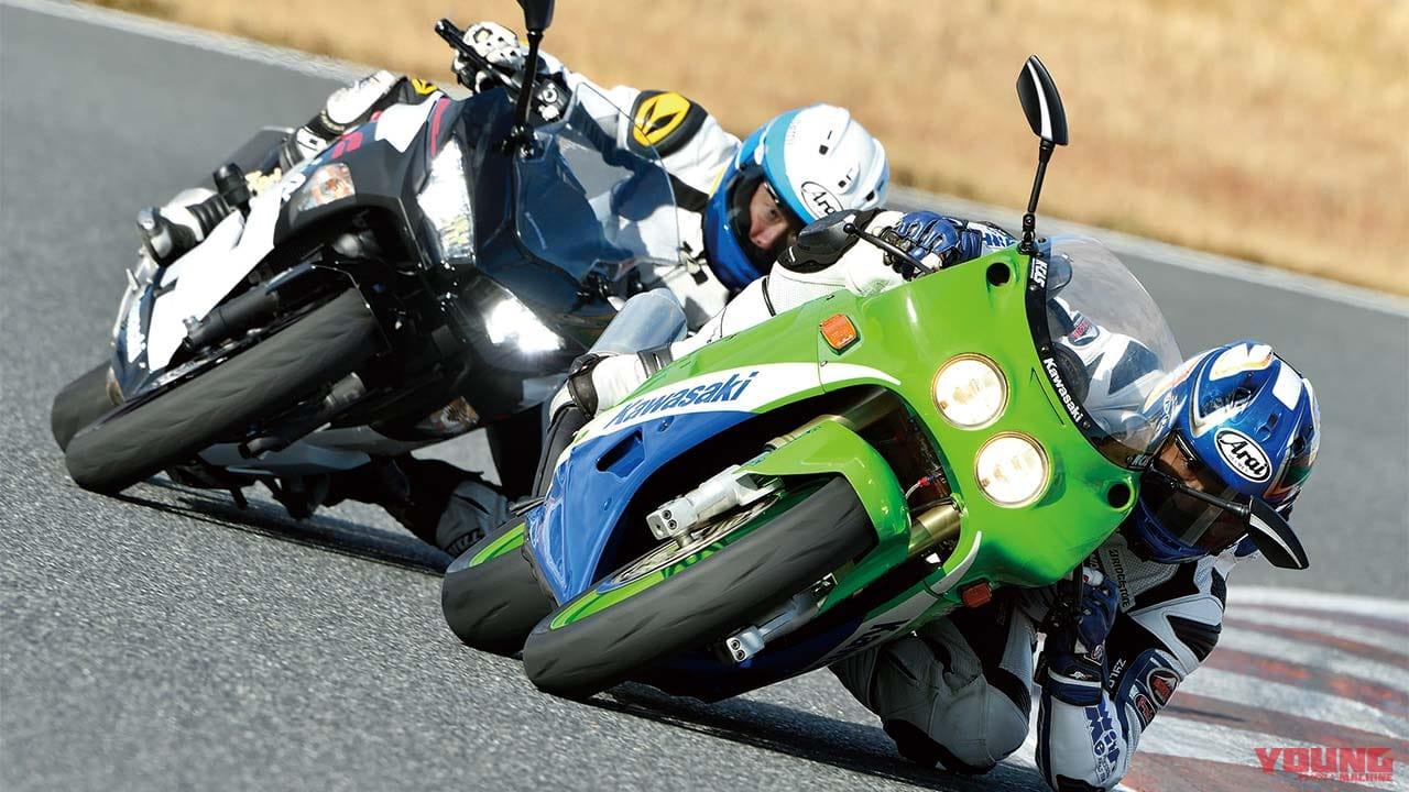 250cc4気筒の実力再検証:ZXR250 vs Ninja400比較サーキットテスト