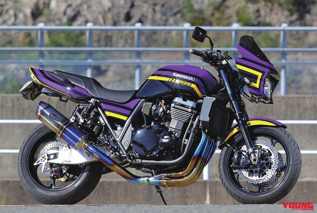 カワサキZRX1200ダエグ(ハイパープロ ツインショック DP-S装着車)