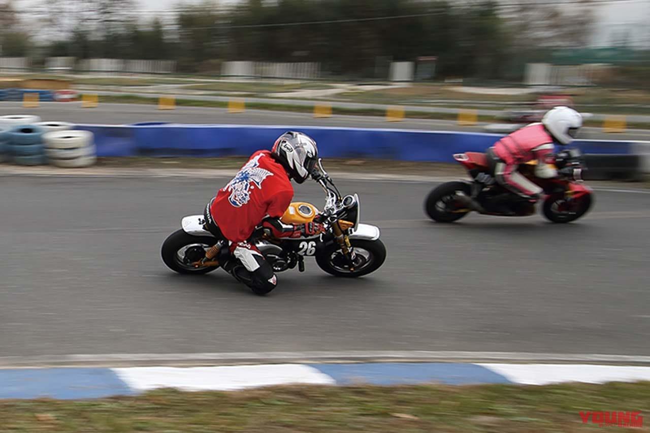 レンタルミニバイク耐久レース Let'sレン耐