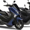 ヤマハの原付二種スクーター「NMAX ABS(125)」に新色のマットブルーが登場
