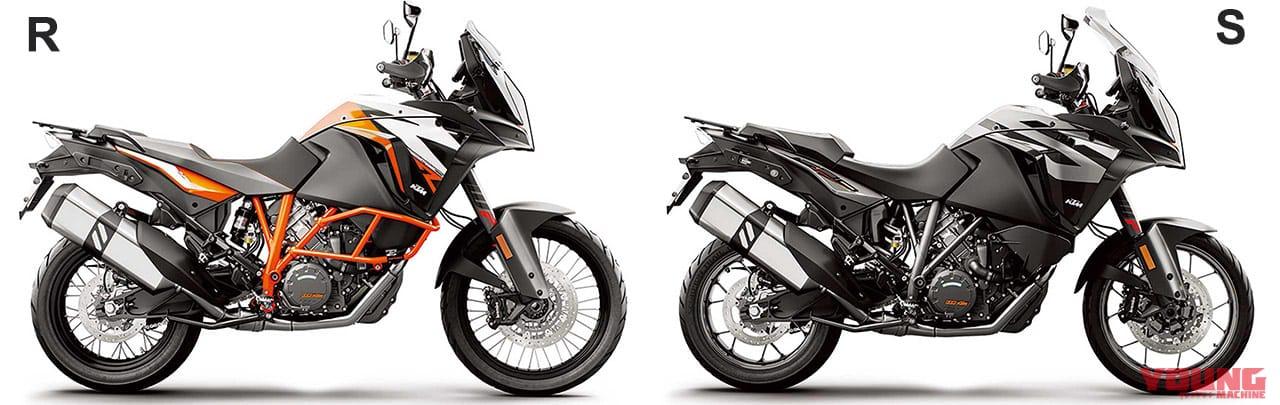 KTM 1290スーパー アドベンチャーS/R