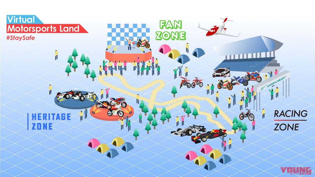 ホンダ・バーチャルモータースポーツランド(Virtual Motorsports Land)