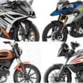 '20新車バイク総覧〈300〜400ccミドル|外国車〉KTM BMW ハスクバーナ他