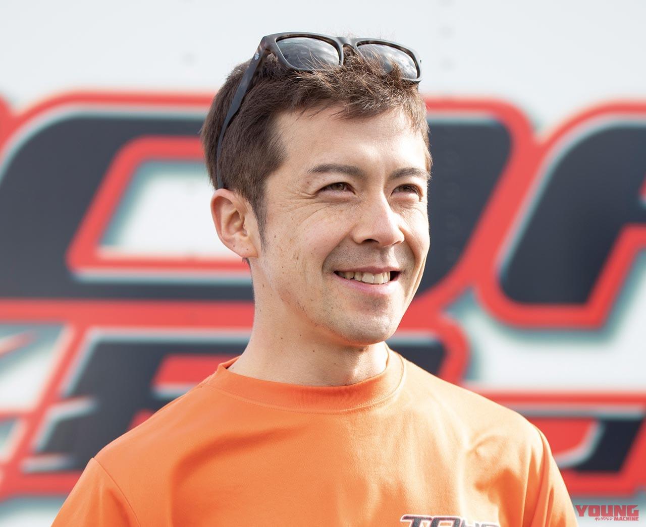 TOHOレーシング・國川浩道選手