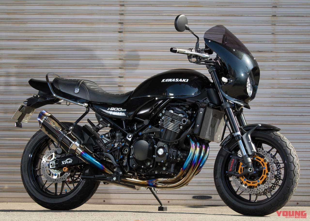 Z900RS/Cafe用ナサートエボリューション TYPE II 3D UP[ビート]