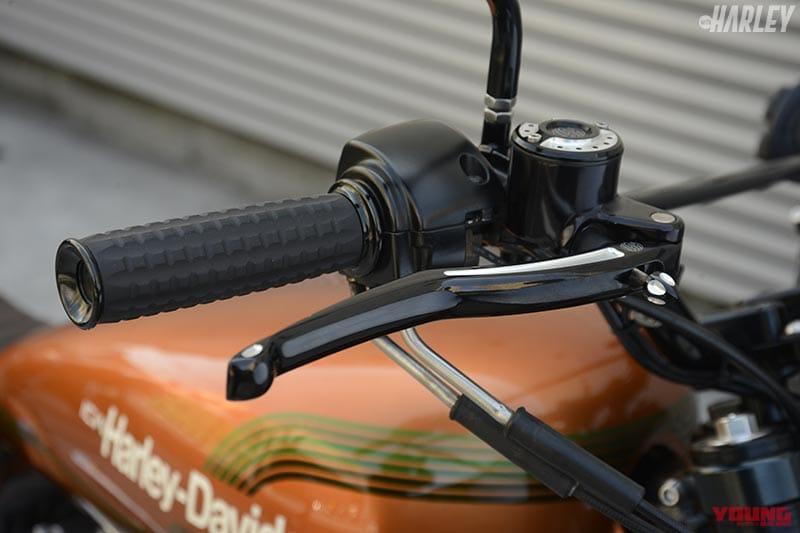 RSD製ブレーキマスター&クラッチレバー