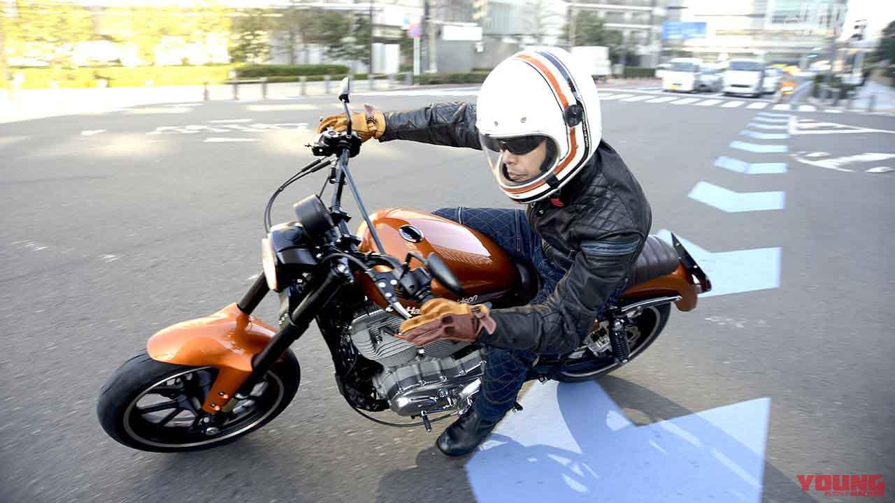 一国サイクルワークスのスポーツスター883カスタム