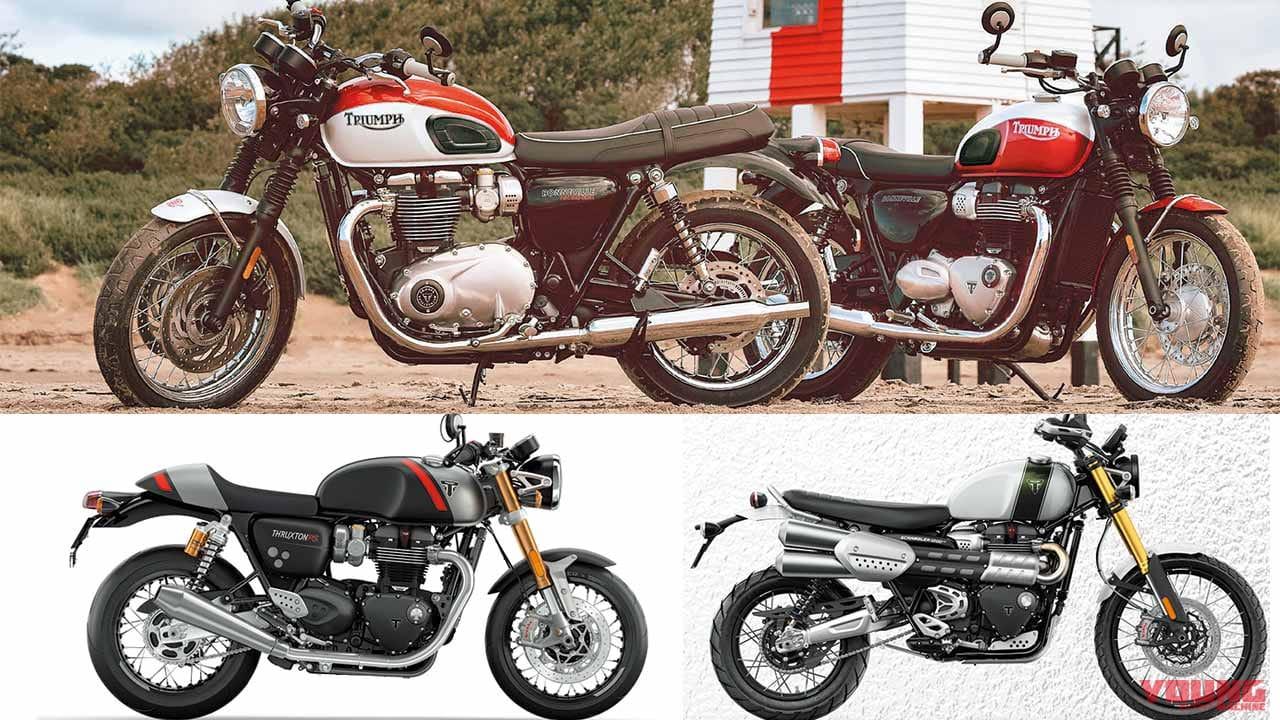'20新車バイク総覧〈大型ヘリテイジ|外国車〉トライアンフ