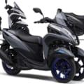 青が足元に映える! ヤマハの3輪スクーター「トリシティ155」に新色が登場