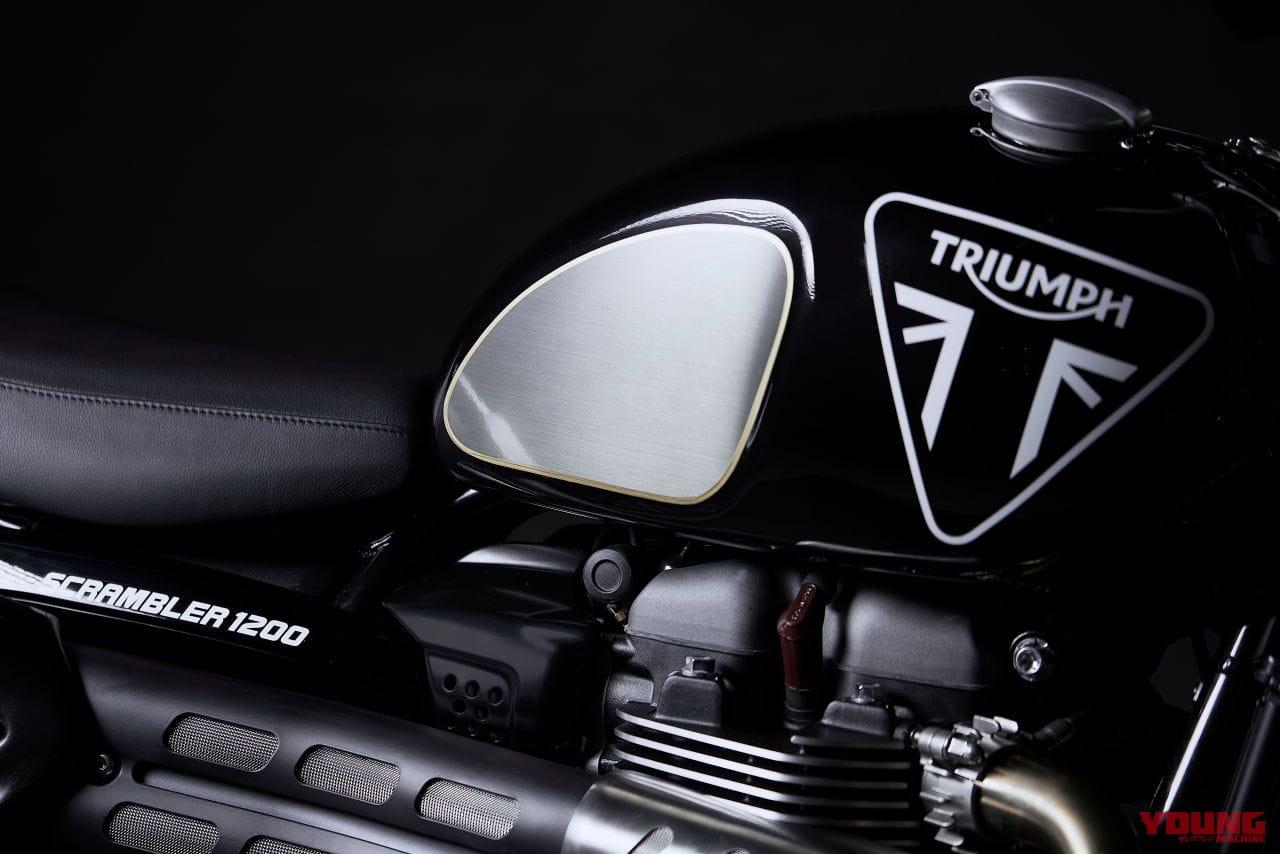トライアンフ スクランブラー1200ボンドエディション