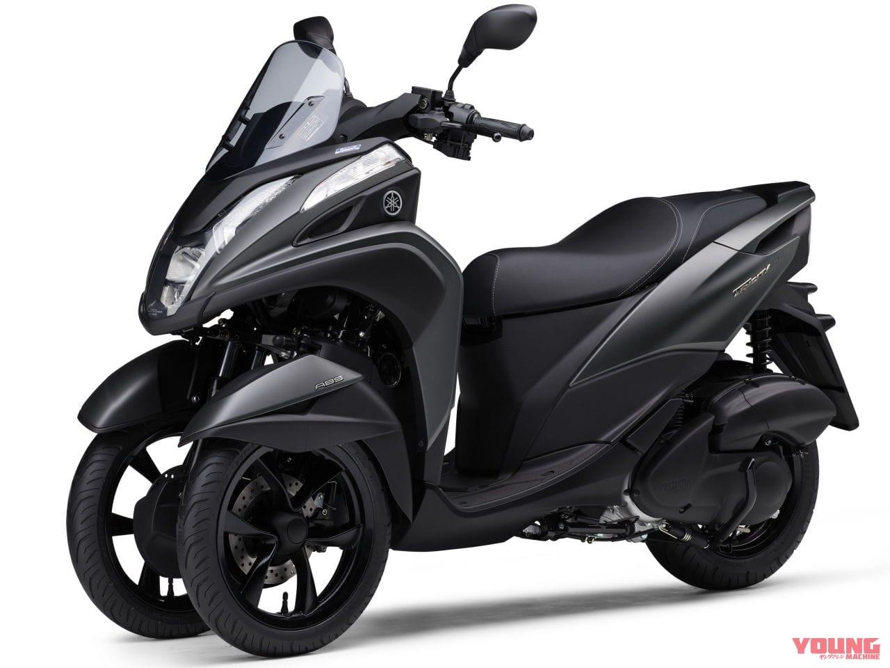 YAMAHA TRICITY 155 ABS[2020]マットグレーメタリック3(マットグレー) ※継続色