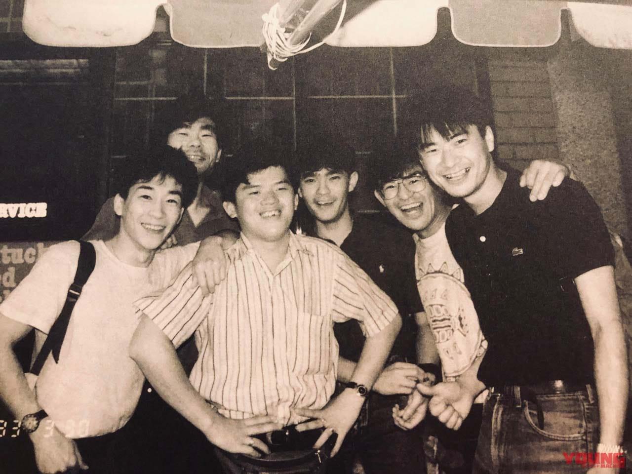 1992年、マレーシアGPの後に