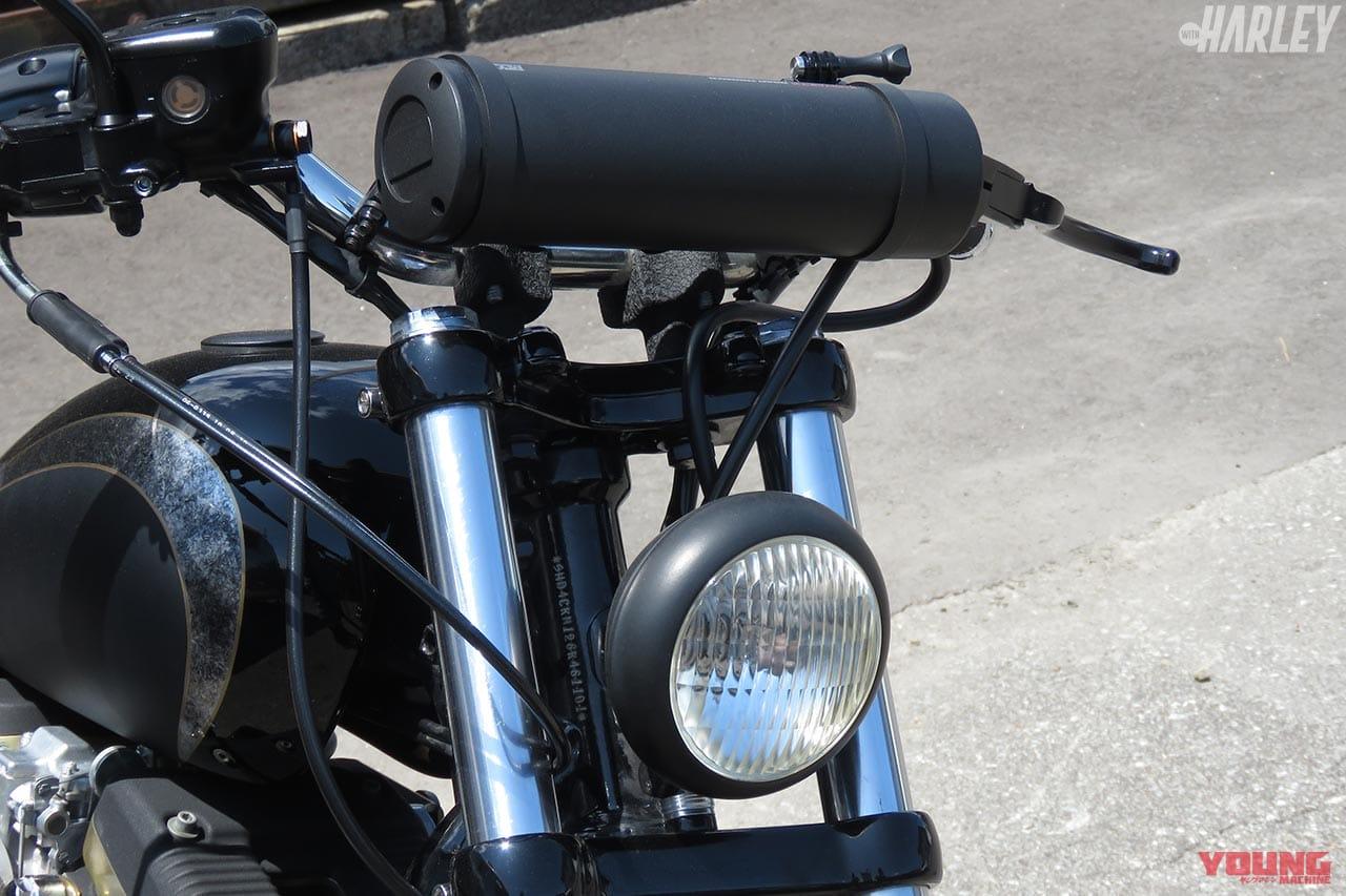 ハーレーダビッドソンXL883R S&Fモーターサイクルカスタム