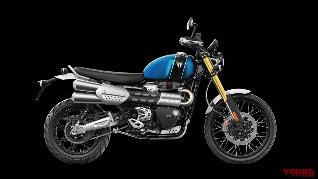 トライアンフ スクランブラー1200XE