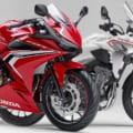 ホンダは400ccクラスも引き続き充実! 「CBR400R」ロゴデザイン変更/「400X」は新色登場