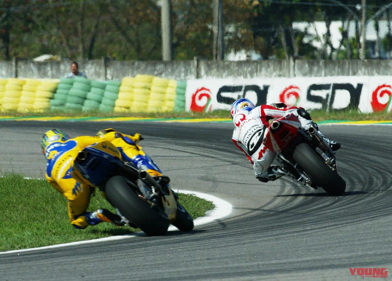 2003年ブラジル・リオGP 玉田誠選手